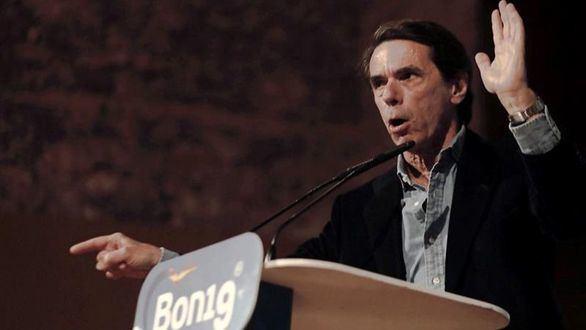 Aznar, a Vox: 'A mí nadie me llama derecha cobarde mirándome a la cara'