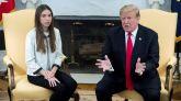 Trump recibe a la mujer de Guaidó en la Casa Blanca