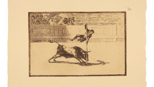 Cuarenta grabados originales de Goya por un precio de salida de 8.000 euros