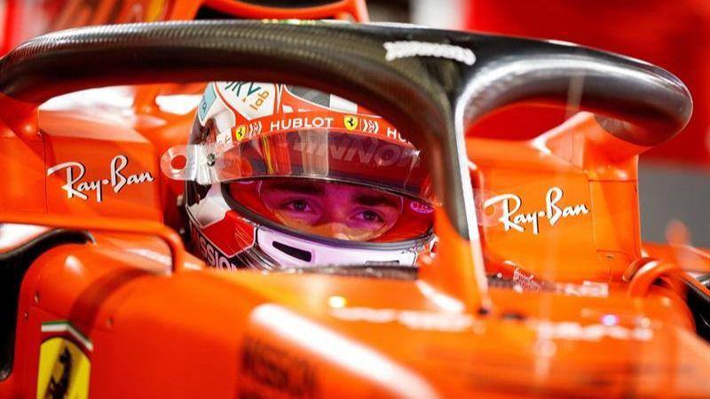 GP Bahrein. Leclerc avisa y estrena 'pole' batiendo a Vettel y Hamilton