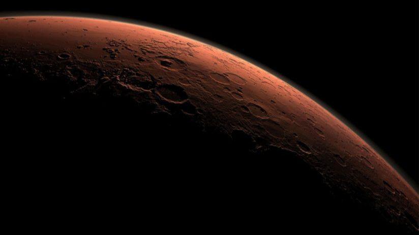 Agua en Marte: ¿y si el planeta rojo solo fuera rojo por fuera?