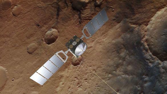 La sonda Mars Express confirma la presencia de metano en Marte