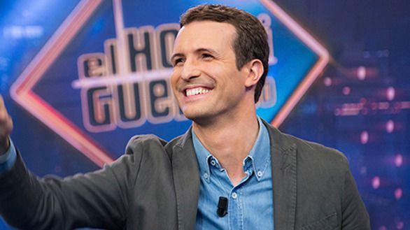 Pablo Casado atrae más que Iglesias en El Hormiguero