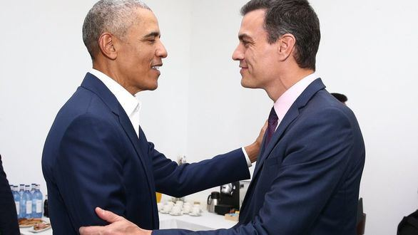 Sánchez y Obama se reúnen para hablar sobre cambio climático e inmigración