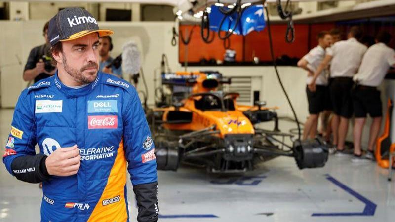 Fórmula Uno. Alonso se despide del McLaren: