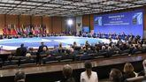 Vista general de la reunión de ministros de Asuntos Exteriores de la OTAN este jueves, en Washington.