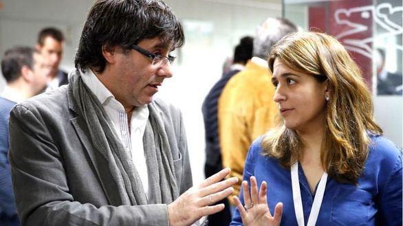 Carles Puigdemont y Marta Pascal, en una imagen de achivo.