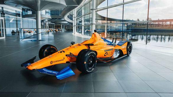 Así es el coche con el que Alonso aspira a ganar las 500 millas de Indianápolis