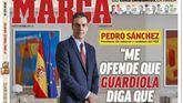 Los generalistas con Casado; Sánchez posa en Marca