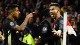 Ronaldo también suma un gol en el empate de la Juventus en Amsterdam | 1-1