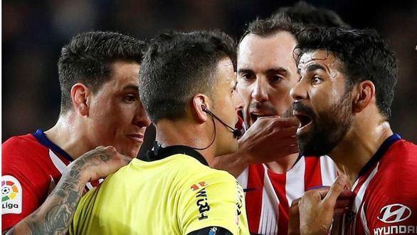 Sanción ejemplar: ocho partidos a Diego Costa por su expulsión en el Camp Nou