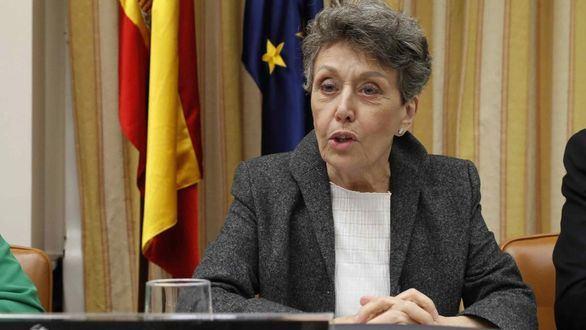 La administradora provisional única de RTVE, Rosa María Mateo.