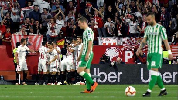El Sevilla gana al Betis en la última fiesta andaluza   3-2
