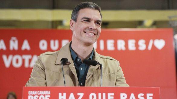 Sánchez ve ya 'muy cerca' un gobierno que dependa de sí mismo