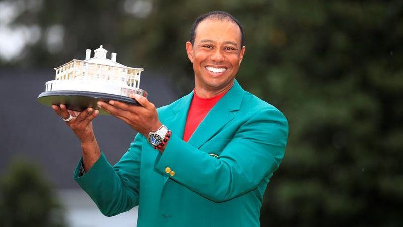 Masters de Augusta. Tiger Woods renace y se proclama campeón por quinta vez