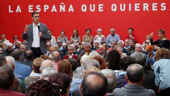 Sánchez promete más autogobierno para Cataluña
