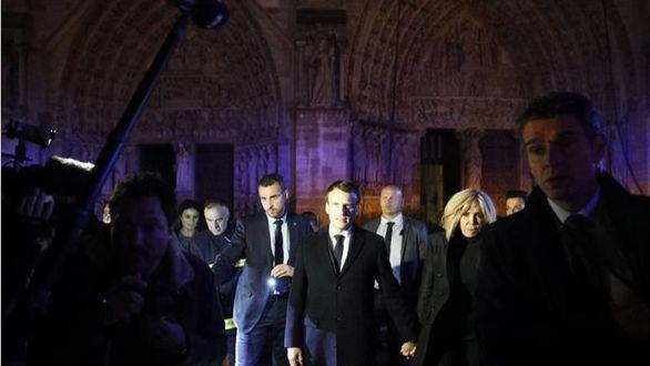 Macron, sobre Notre Dame: