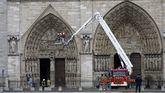 Europa y las grandes fortunas francesas se vuelcan en la reconstrucción de Notre Dame