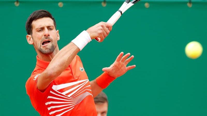 Masters Montecarlo. Djokovic se desquicia pero sobrevive en su debut