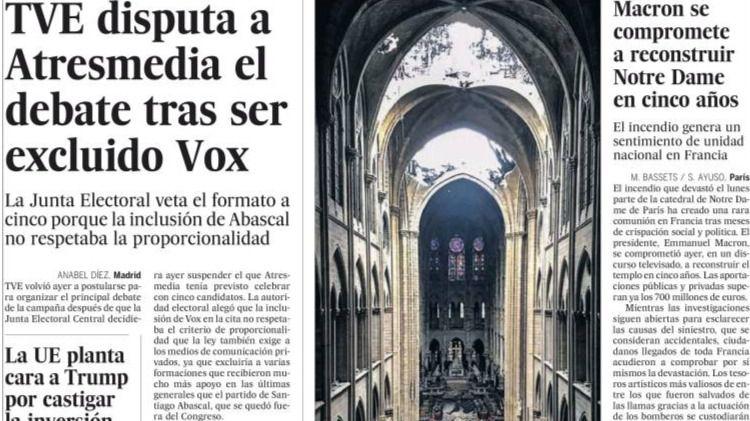 Frenazo de la JEC a Vox en Atresmedia