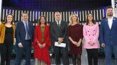 Foto de familia del 'Debate a 6' que tuvo lugar en La 1 con representantes de los partidos que cuentan con grupo parlamentario propio.