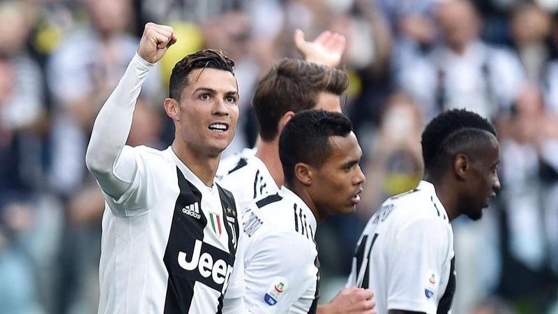 Ronaldo gana su primer Scudetto en Italia con la Juventus