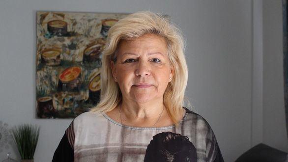 Ángeles Pedraza, expresidenta de la AVT.
