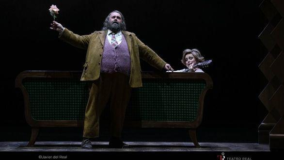 Falstaff, de Verdi, no defrauda en su puesta de largo en el Teatro Real