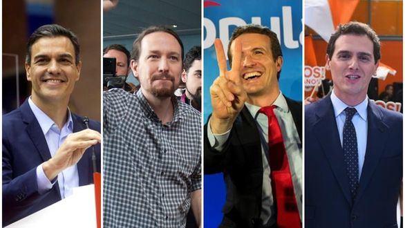 Esprint final de la campaña electoral en busca del voto de los indecisos