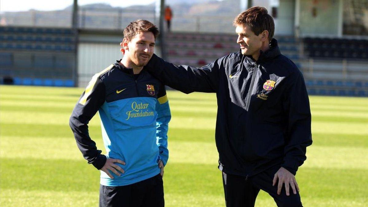 Seis días antes de morir, Tito Vilanova convenció a Messi de no dejar el Barça