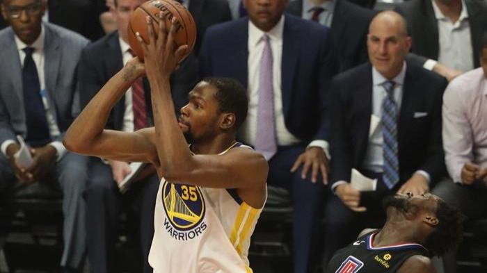 NBA Playoffs. Un monstruoso Durant cita a los Warriors con los Rockets