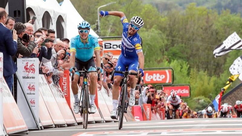 Alaphilippe y Van der Poel restallan como los relevos de Valverde y Sagan