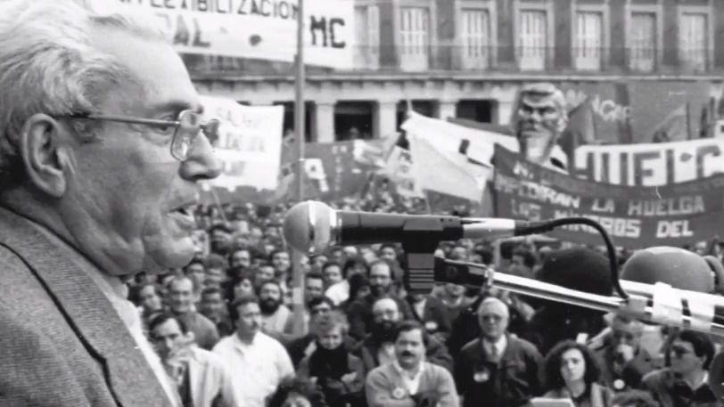 La película Lo posible y lo necesario sobre Marcelino Camacho, de nuevo en Madrid