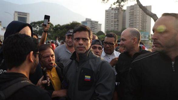 Leopoldo López, liberado por militares opositores