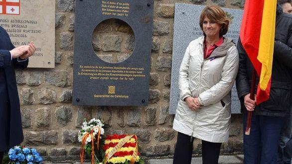 Delgado abandona un acto en Mauthausen al citar el Govern a los