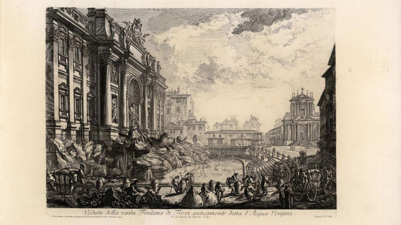 La influencia de Piranesi en España a través de 300 dibujos, pinturas y esculturas