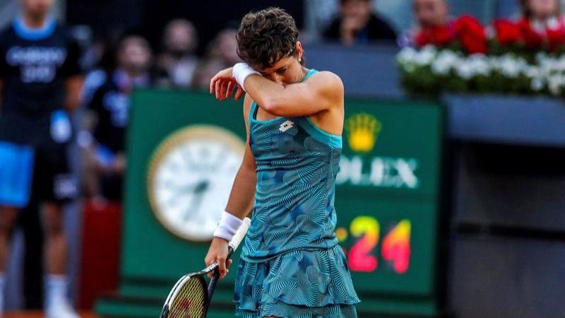 Mutua Madrid Open. Carla Suárez tampoco sobrevive