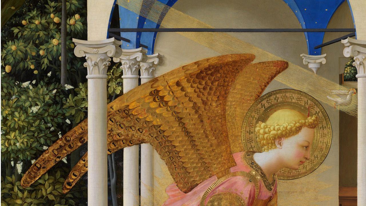 El Museo del Prado recupera la luminosidad original de La Anunciación de Fra Angelico