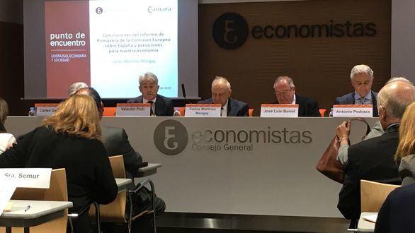 """""""La deuda española puede tomar una senda insostenible"""""""