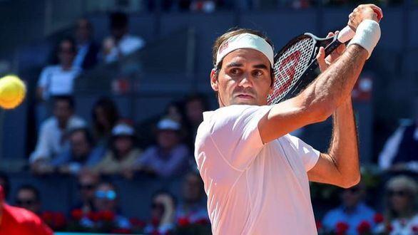 Mutua Madrid Open. La victoria 1200 de Federer le mete en cuartos de final