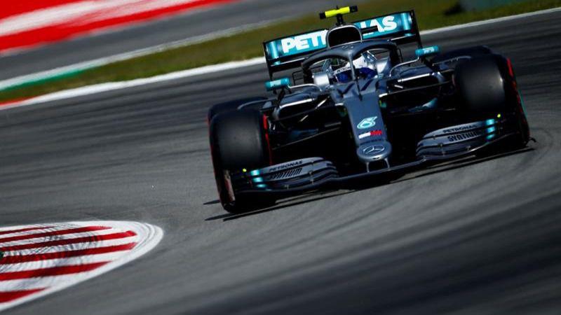 GP España. Valtteri Bottas lidera otro doblete de Mercedes