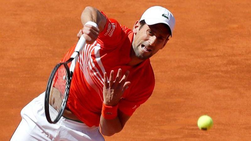 Mutua Madrid Open. Djokovic se exprime ante Thiem y es finalista