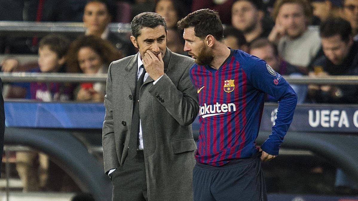 Valverde da la cara: proclama estar respaldado por Bartomeu en el Barcelona