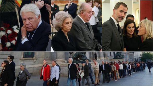 Emotivo adiós de España a Alfredo Pérez Rubalcaba