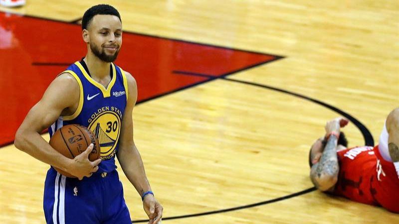 NBA Playoffs. Los Warriors entierran al proyecto de los Rockets
