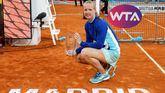 Mutua Madrid Open. Bertens domina a Halep y se erige en campeona