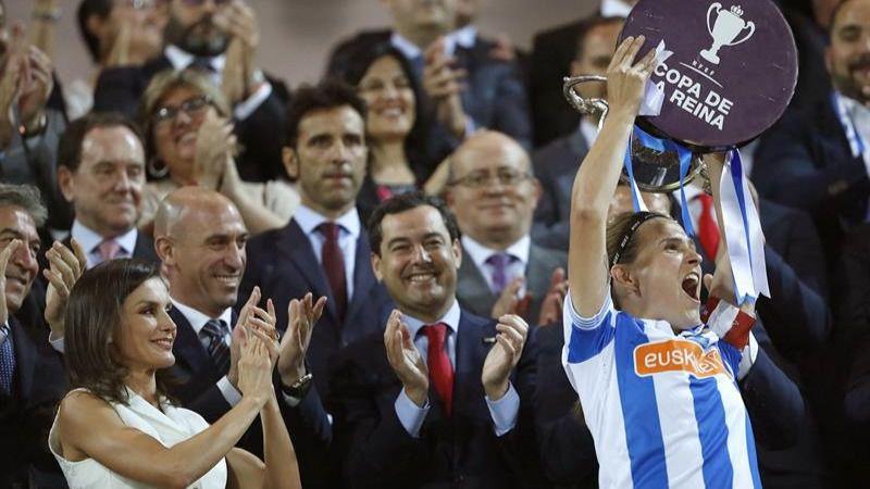 La Real Sociedad se proclama campeón de la Copa de la Reina