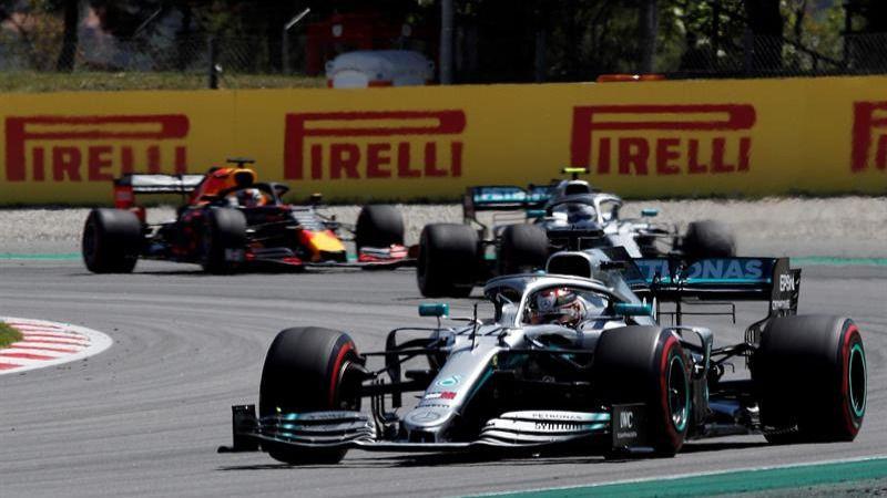 GP España. Hamilton vence a Bottas
