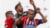 El Atlético ya es segundo y el Sevilla mantiene su anhelo de Champions | 1-1