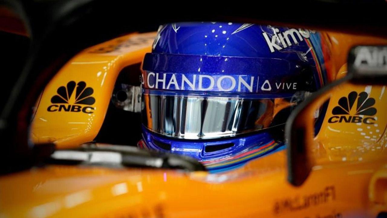Indy500. Fernando Alonso sufre un accidente, entre la ilusión y los pies de plomo